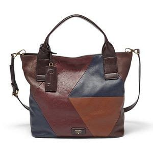 Tas Fossil Emerson Patchwork Pink 37 fossil handbags fossils emerson satchel from
