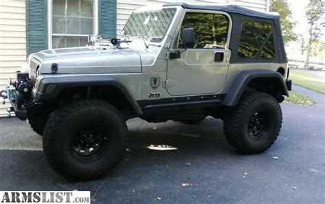 2001 Jeep Wrangler For Sale Armslist For Sale 2001 Jeep Wrangler Tj Sport Lifted
