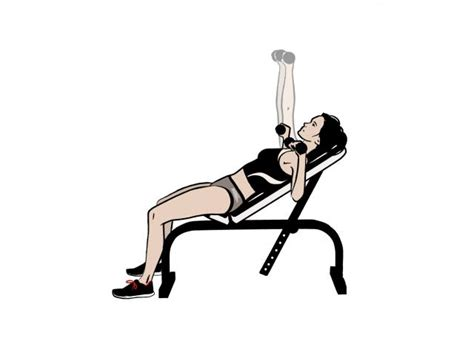 bench press calories burned 7 dumbbell exercises to up your calorie burn women s health