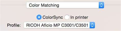 colorsync vs vendor matching what are the pros and cons of doing colorsync vs vendor