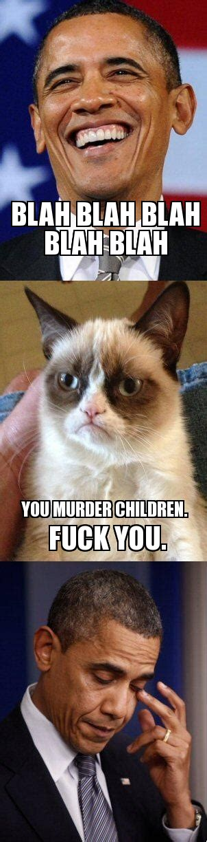 Grump Cat Meme Generator - barack obama grumpy cat weknowmemes generator