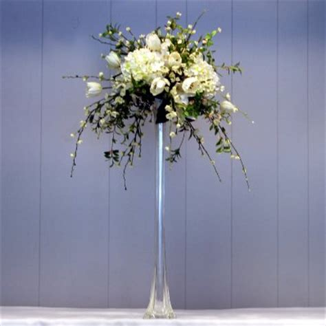 Eiffel Tower Flower Vases by Centerpieces