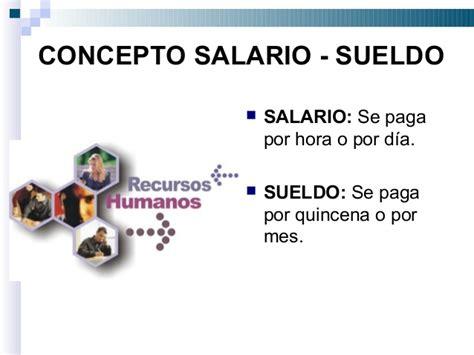 cuanto es el dia de salario en venezuela en el 2016 salario concepto e importancia