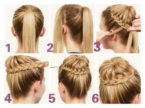 tendencias de peinados fáciles, rápidos y elegantes mas