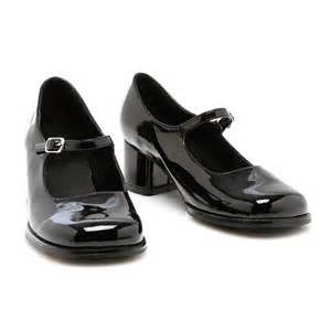 black shoes black child shoes buycostumes
