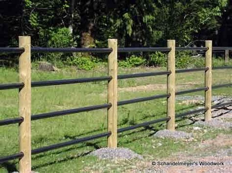 wood l post designs wood post and rail fencing barns pinterest