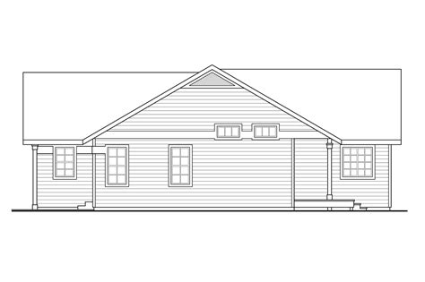 house plan 1761 square feet 57 ft ranch house plan 108 1761 3 bedrm 1298 sq ft home