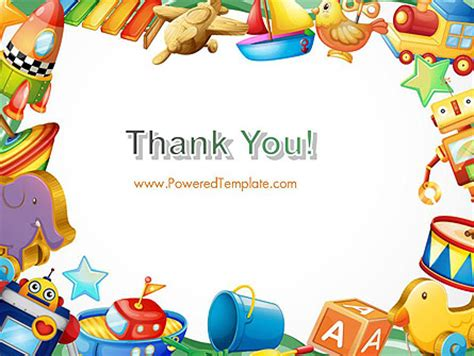 cornici per powerpoint toys frame powerpoint template backgrounds 14293