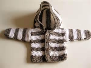 Crochet newborn set hoodie amp cap geh 228 keltes erstlingsset