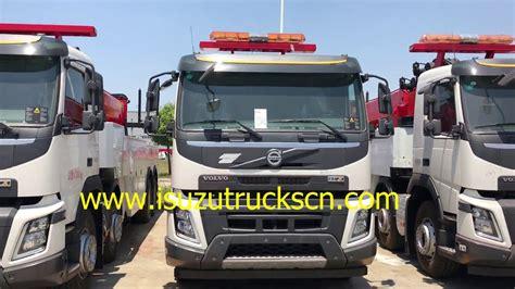 heavy duty volvo 60ton 80ton heavy duty wrecker truck volvo recovery tow