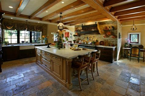 Oc Kitchen And Flooring by Reclaimed Biblical Flooring Mediterranean Kitchen
