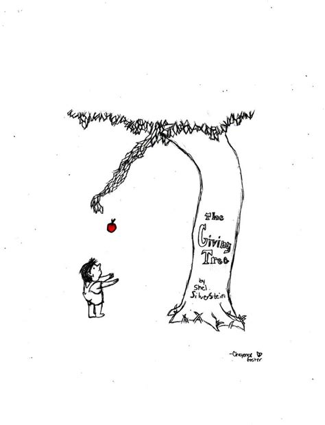 the giving tree by colourwheell on deviantart