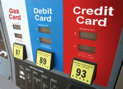 using credit, debit card to buy gas now a major financial