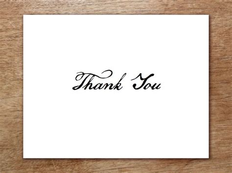 thank you card template free pdf 15 best minimal text layouts images on invites