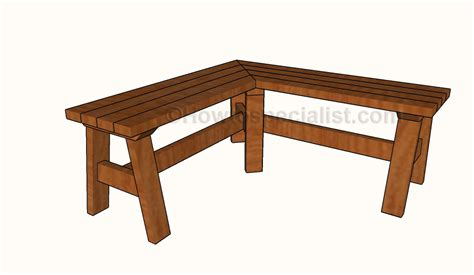 Wooden Bench Plans Howtospecialist How To Build Step By Step Diy Plans