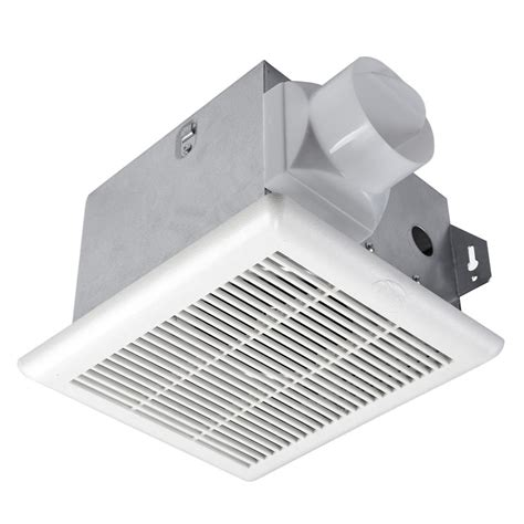 bathroom exhaust fan on wall hton bay 70 cfm no cut ceiling mount exhaust bath fan