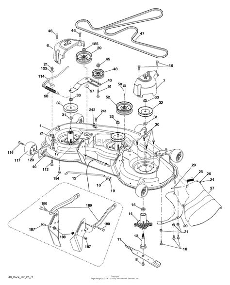 husqvarna yth2348 289571 2012 02 parts diagram for