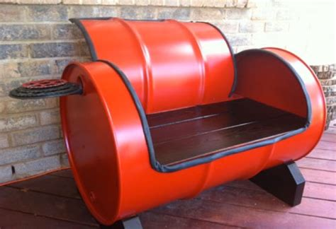 furniture recycling recycled furniture idea with red keg