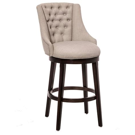 Hillsdale Milan Swivel Counter Stool by Wood Stools Classic Armchair Swivel Counter Stool
