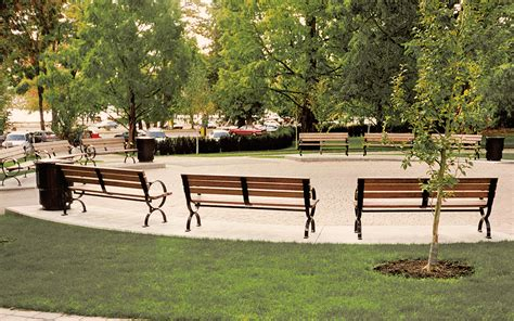 victor stanley park benches artists circle in stanley park vancouver canada victor