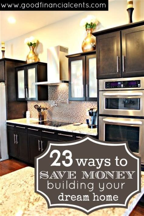 23 ways to save money building your home