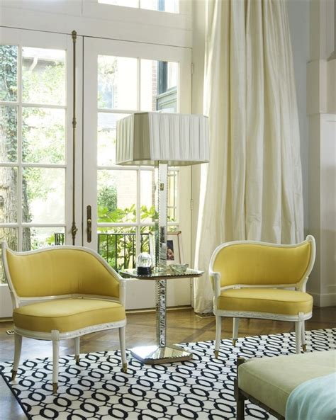 jan showers yellow chairs contemporary living room jan showers