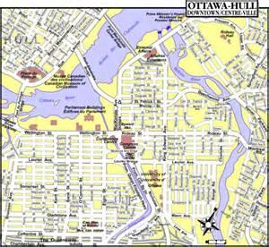 map of canada ottawa ottawa ontario tourist map ottawa mappery