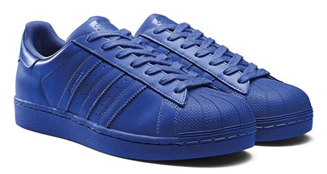 Adidas Blue adidas superstar supercolor schuhe bold blue