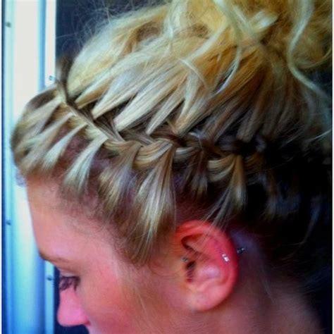 waterfall braid boys and waterfall braid headband add hairstyle