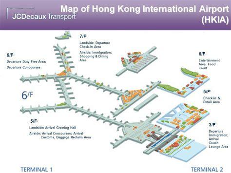 hong kong international airport floor plan hong kong international airport reviews travel observers