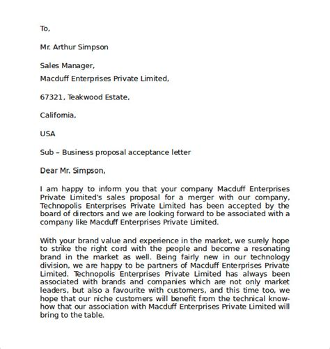 personal business letter format 7 download free