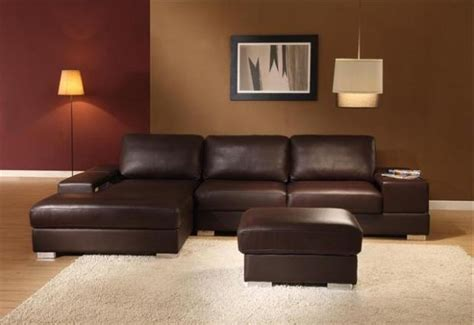 sectional brown leather sofa distressed brown leather sectional sofas plushemisphere