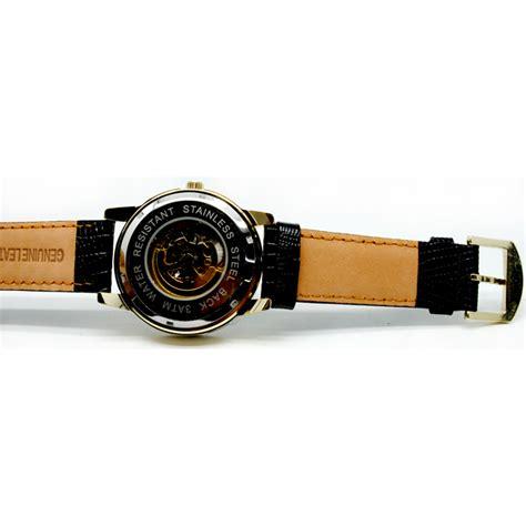 Casio Analog Jam Tangan Wanita Gold Cokelat Diskon oulm jam tangan analog hp3682 black gold jakartanotebook