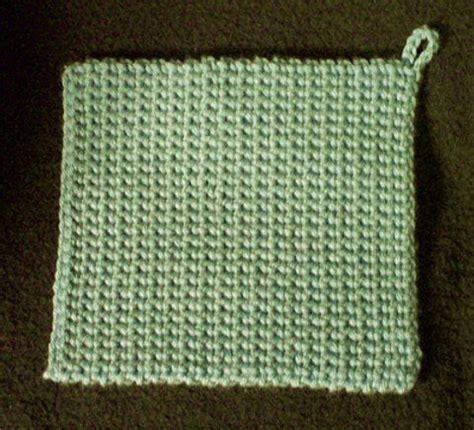 how to knit a potholder 25 best ideas about crochet potholders on