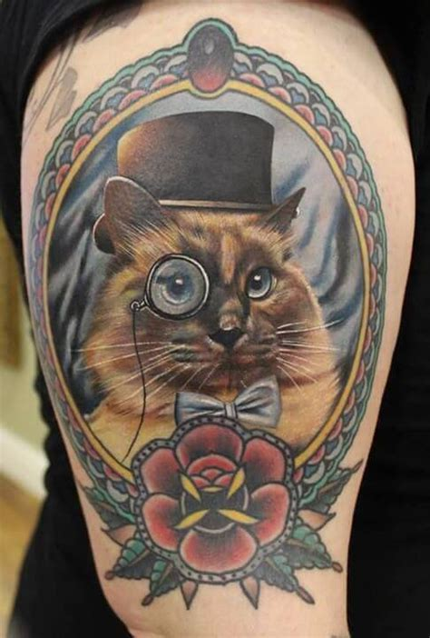 cat tattoo top hat cat tattoos for men ideas and inspiration for guys