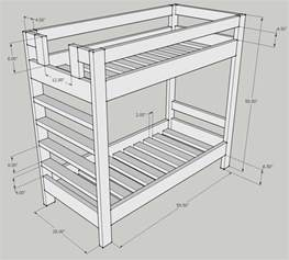 Bunk Bed Mattress Size Bunk Bed Design Question Kreg Owners Community
