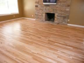 decoration hardwood floor with bright wood color