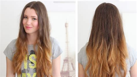 how to diy ombre hair at home how to ombr 233 your hair l or 233 al preference ombr 233 kit