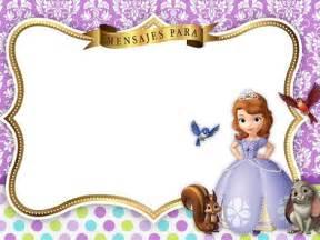 Ice Cornice Tarjetas De Princesa Sofia Imagui