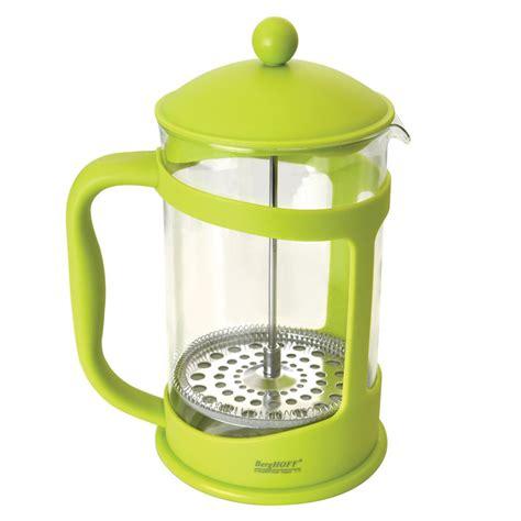 Fiorenza Tea Coffee Pot 3 Cup Coffee Plunger Press Tea Coffee 1 berghoff studio 6 3 cup lime green coffee tea press