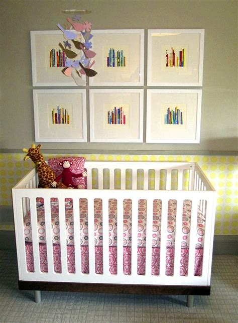 nursery wall ideal bookshelf