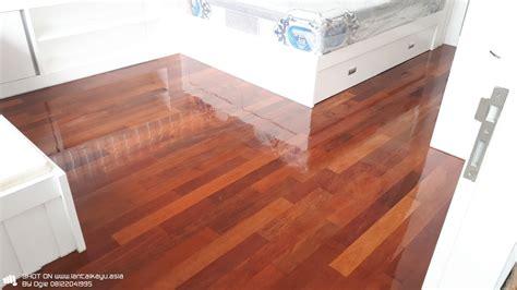 Lantai Kayu Parket Merbau Solid pemasangan lantai kayu merbau di rawamangun jakarta timur