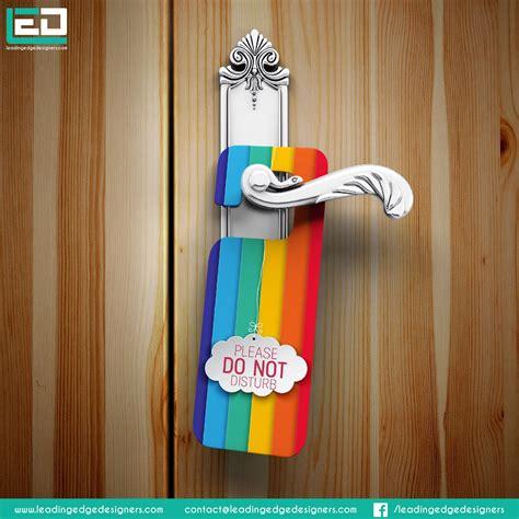 door hanger designing doorhanger design