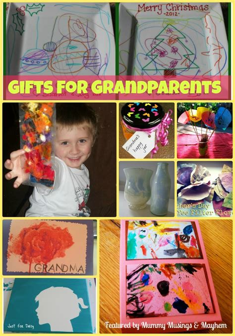 Handmade Gifts From Toddlers - gifts for grandparents the empowered