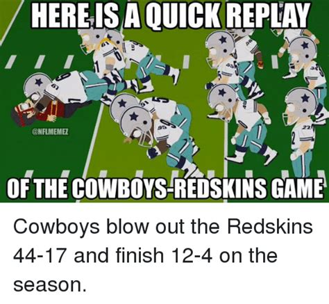 Cowboys Redskins Meme - 25 best memes about cowboy redskin cowboy redskin memes