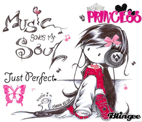 music saves my soul :) x bild #86231903 | blingee.com
