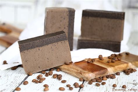 Coffee Soap diy coffee soap recipe easy melt and pour coffee soap crafter