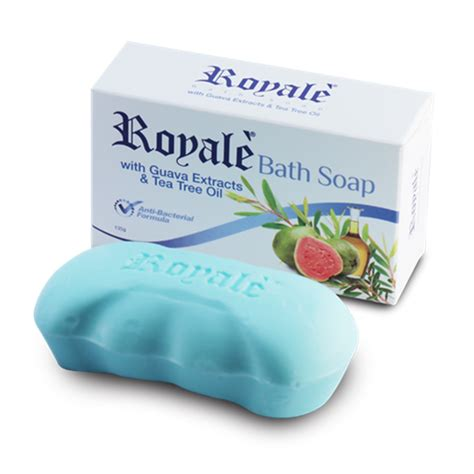 bathroom soap royale bath soap guava extract tea tree oil