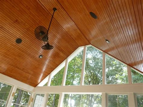 tongue and groove porch ceiling tongue and groove screen porch ceiling by archadeck of