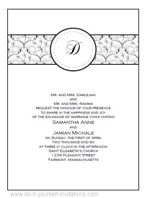 template for invitations free printable diy printable wedding invitations templates